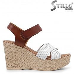 Sandale dama model spaniol pe platforma - 36688