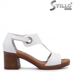 Sandale  dama model spaniol, din piele naturala  - 36691