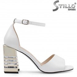 Sandale dama elegante cu toc - 36737