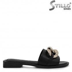 Papuci casual din piele  - 36746
