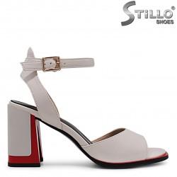 Sandale dama cu toc inalt - 36797