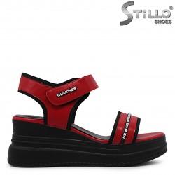 Sandale sport cu platforma si imprimanta scrisa – 36807