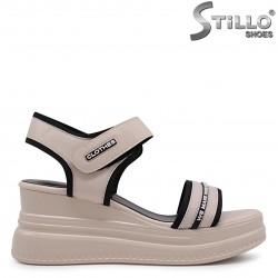 Sandale snickers   de culoare bej- 36808