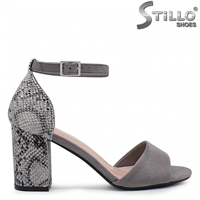 Sandale cu imprimanta tip sarpe  – 36831