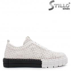 Pantofi sport de vară din dantelă  – 36918