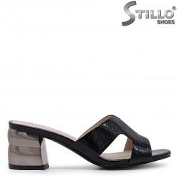 Papuci dama cu toc mijlociu – 36939