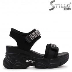 Sandale sport cu pietricele si cu platforma – 36995