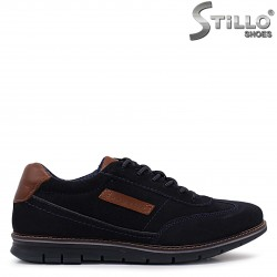 Pantofi barbati sport eleganti model BUGATTI din velur natural – 37122