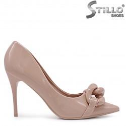 Pantofi  dama eleganti de culoare bej – 37128