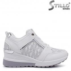 Sneakers dama cu platforma   - 37129