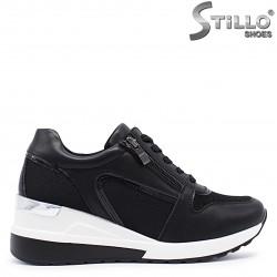 Pantofi dama sport cu platforma si cu sireturi- 37184
