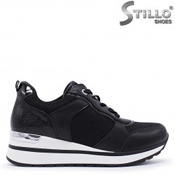 Sneakers dama din textil si piele eco – 37230