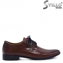 Pantofi dama barbati eleganti din piele naturala  - 37268