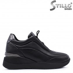 Pantofi sport din piele si cu platforma  – 37275