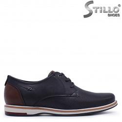 Pantofi  sport barbati eleganti de culoare albastru  – 37358