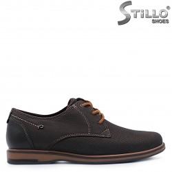 Pantofi barbati de culoare maro din piele naturala – 37360