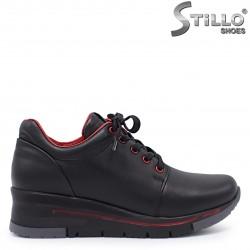 Pantofi dama sport pe platforma din piele naturala – 37363