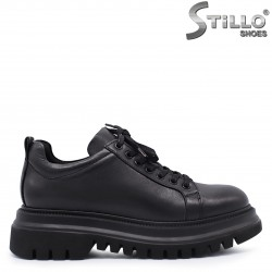 Pantofi dama grunge din piele naturala – 37365