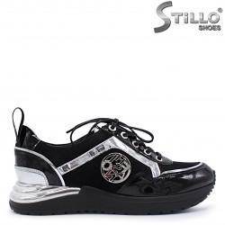 Sneakers  dama moderni din piele naturala - 37369