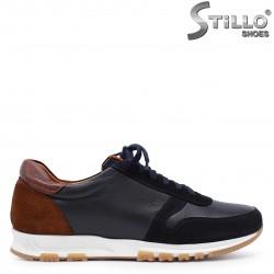 Pantofi sport barbati din piele naturala si velur – 37497