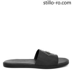 Papuci de barbat din piele cu ornamente - 29028